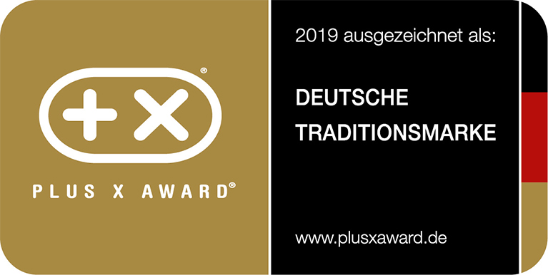 "PLUS X AWARD ""German Brand with long Tradition"" for Unold®"